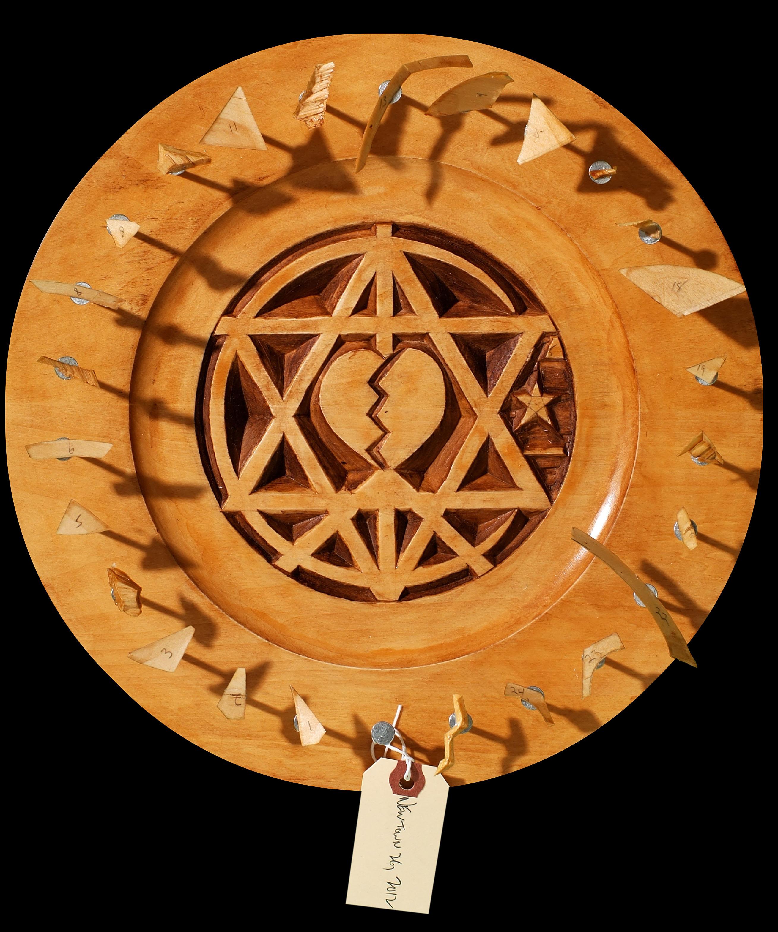 Jewish wood carving by harvey paris